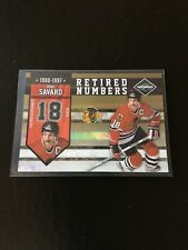 Denis Savard Chicago Blackhawks 2010 Panini Limited Retired Numbers Gold 22/24