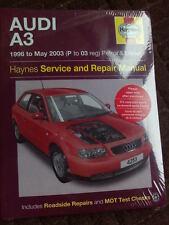 New Haynes Audi A3  Manual 4253 1996 - 2003 Haynes 4253 Paperback Edition