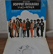 """The Family Vibes Soppin' Molasses Japan 7"""" Picture Sleeve Toshiba LLR-10063"""