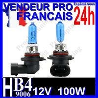 AMPOULE HB4 XENON 100W LAMPE 9006 POUR VOITURE FEU SUPER WHITE PHARE 12V 6500K