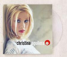 CHRISTINA AGUILERA Debut LP CLEAR Colored Vinyl Record BRAND NEW