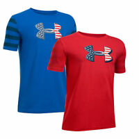 Under Armour Boys' Big Logo Flag T-Shirt 1299487