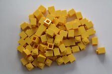 100 Lego Bausteine 1x1 gelb NEU 3005 Basic Steine Grundsteine
