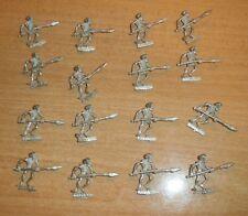 Warhammer Vampire Count  Undead 16  METAL Skeleton  SPEARMEN long OOP 1985