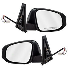 New Pair Power Side Mirror Heated Signal Puddle Lamp for 14-16 Toyota 4Runner