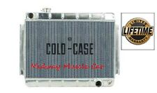 66 67 Chevy Chevelle  Cold-Case aluminum performance radiator  w/ manual trans