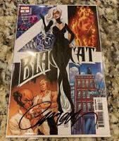 BLACK CAT #4 JSC COVER SIGNED J SCOTT CAMPBELL MARVEL COA
