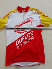 VINTAGE RETRO DUFLOS MONTAGE CYCLE PITAU CYCLING SHIRT RACE JERSEY ROAD BIKE
