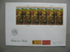 UNITED NATIONS VIENNA, R-cover FDC 1988, S/S save the forests, tree