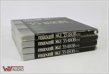 Maxell 35-180B XL 1 Metal Reel 26,5 cm Aluspule 4 Pieces. (2)