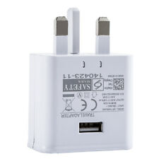 5V 2A USB Fast Wall Charger Mains Power UK Plug Adapter For iPad iPhone Samsung