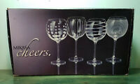 Mikasa Cheers Balloon Goblet Wine Glasses Set of 4 - 24.5 fl oz - #SW910-400
