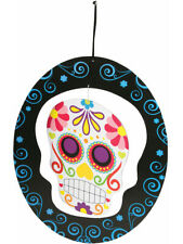 Hanging Day Of The Dead Mobile Skull Spinner Halloween Decorations