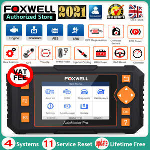 Foxwell NT634 Pro ABS SRS DPF Oil Reset OBD2 Diagnostic Scanner Car Code Reader