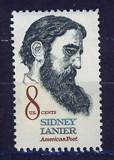 ESTADOS UNIDOS/USA 1972 MNH SC.1446 Sidney Lanier,poet