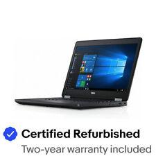 """Dell Latitude E5470 Business 14"""" HD i5-6300U 8GB 250GB disco duro sin cámara web Win10 Pro"""