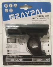 Black RAYPAL 2225 CREE 3W LED 60 LmsAAA Bicycle Bike Front Safety Light & Mount