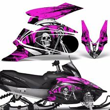 Yamaha APEX Decal Wrap Graphic Kit XTX Part Sled Snowmobile 2006-2011 REAP PINK