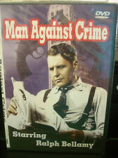 MAN AGAINST CRIME (DVD) RALPH BELLAMY 3 EPISODES WORLDWIDE SHIP AVAIL!