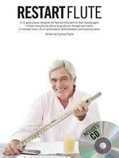 Restart Flute Learn to Play Beginner Flautist Tutor Lesson Music Book & CD