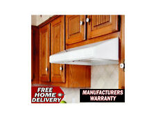 """Vent A Hood SLH6-K36-WH White Emerald 250 CFM 36"""" Under Cabinet Hood Free Ship"""
