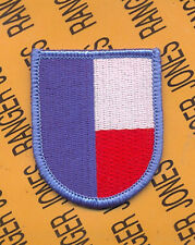 US Army 197th Support Battalion Airborne beret flash patch m/e