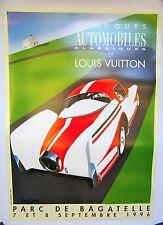Signed Razzia Louis Vuitton Parc Bagatelle 1996 Poster on Linen