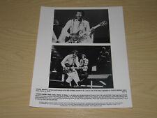 CHUCK BERRY HAIL! ROCK N ROLL - UK PROMO PRESS PHOTO -