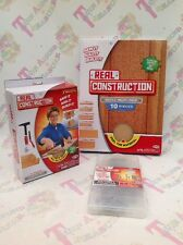 Real Construction Starter Set, Refills Workshop Kid Wood Pack Saw Nail Build Toy