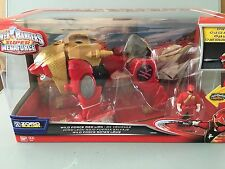 Power rangers Super megaforce Wildforce red lion zord with ranger key