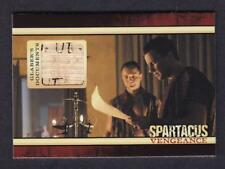 SPARTACUS VENGEANCE COSTUME / RELIC GALBER'S DOCUMENTS