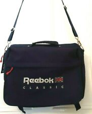 Reebok Classic 15 inch Laptop Bag, Adjustable strap and Carry Handle, Blue.
