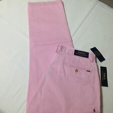 Polo Ralph Lauren Mens Classic Fit Essential Chino Foster Pink 32x30 $89.50 New