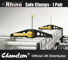 Rhino Safeclamp - Quick Release & Lockable - Ladder Security/Locking Clamps NEW
