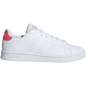 Scarpe donna Adidas Advantage  bianco rosa sneakers tennis modello stan smith