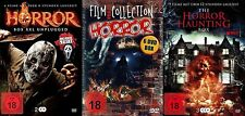 20 Horror movies HALLOWEEN BOX+SCREAM MASKE 30 Hours Hexen VAMPIERE Zombies DVD