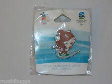 MINT~2010~Vancouver Olympics MIGA Mascot SPEED SKATING Collectible PIN