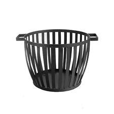 Harbour Housewares Cast Iron Firewood Log Basket - 40cm Indoor / Outdoor