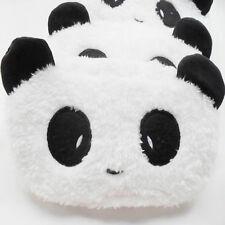Cute Panda Design Soft Plush School Pencil Pen Case Bag Cosmetic Makeup Bag Gift
