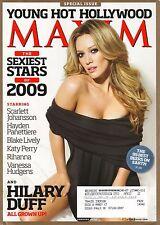 Hilary Duff--2009 Maxim Magazine