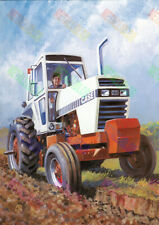 David Brown Case 2090 2290 Tractor Poster - A3