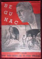 1947 Original Movie Poster The Fugitive Begunac John Ford Henry Fonda Vintage