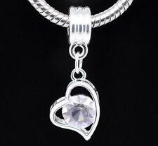 Rhinestone Love & Hearts Costume Charm(s)s Bracelets