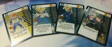 Dragonball Z DBZ TCG Panini Awakening Main Personality MP set level 1-4, Trunks