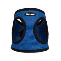 Bark Appeal EZ Wrap Mesh Dog Step In Harness Blue Sizes XXS-XXL