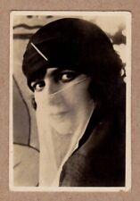 #17 Egypt 1928 Sarony National Types of Beauty tobacco card
