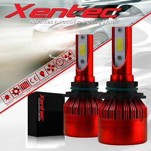 Xentec LED Headlight Low Bulb H11 Kit for GMC Terrain Canyon Acadia Yukon 6000K