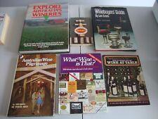 AUSTRALIAN WINE BOOKS WINERIES WINE BUYERS GUIDE DAN MURPHYS LABELS MAPS 6 BOOKS