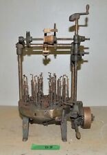 New England Butt Co rope belt making machine industrial steampunk collectible B8