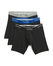 Calvin Klein 3-Boxer Briefs  MEDIUM ONLY PLEASE SEE ALL 4 PICTURES RETAIL $42.50